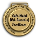 GOLD METAL WEB AWARD OF EXCELLENCE