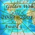 GOLDEN WEB 2000-2001 AWARD